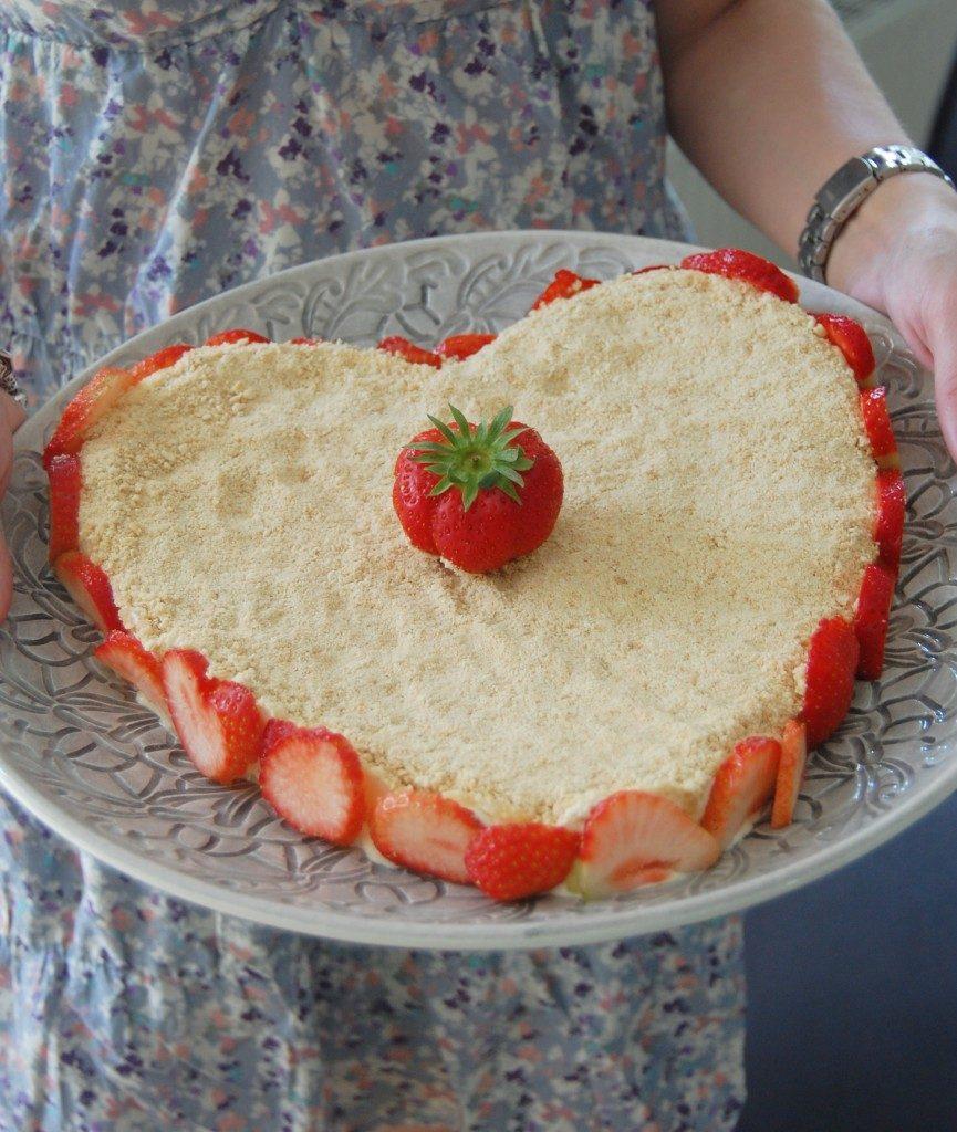 Frusen cheesecake